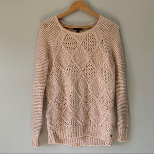 American eagles outfitters blush knitted sweater S